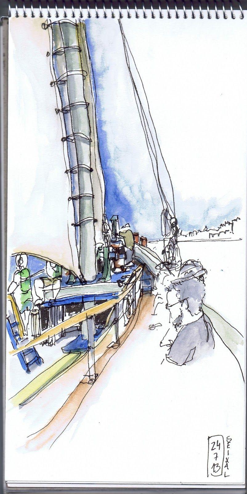 42º Encontro USKP _ Seixal _ Passeio de barco varino