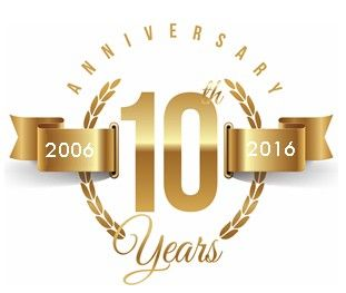 10th Anniversary And A Coupon Code Company Anniversary Business Anniversary Ideas 10th Anniversary Idea