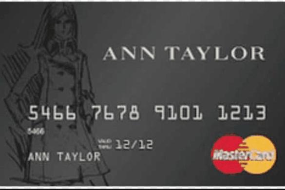 ANN TAYLOR CREDIT CARD LOGIN TO PAY BILLS ONLINE Credit