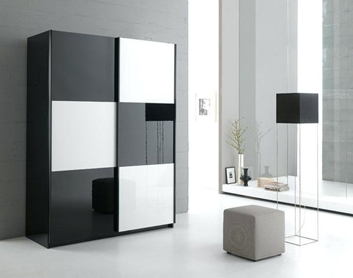 Armoire noir et blanc en cm jazzy structure pas armoire noir et