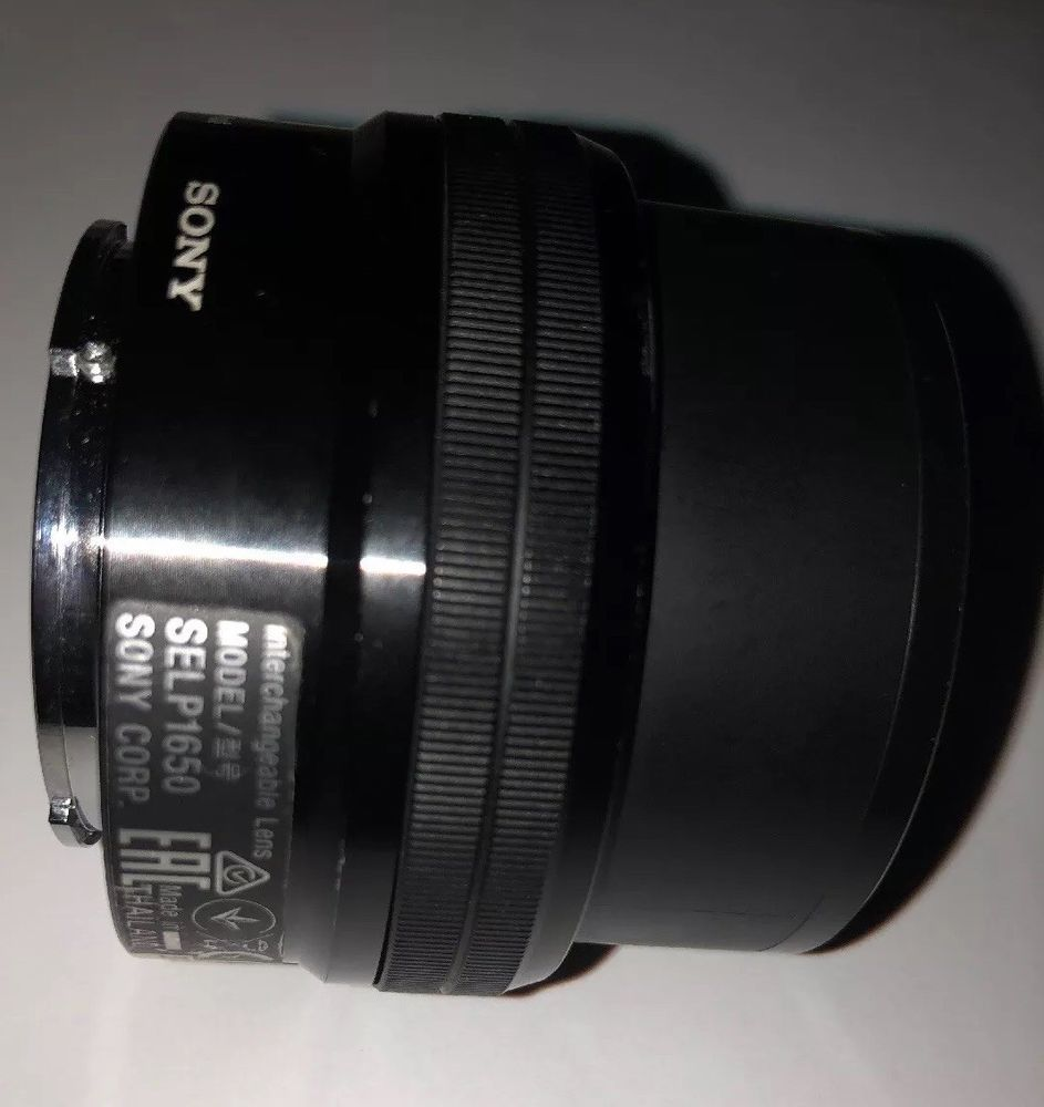 Broken Sony Lense Model Selp1650 E 3 5 5 6 Pz 16 50 Oss For Repair Or Parts Ebay Electronic Accessories Model Sony