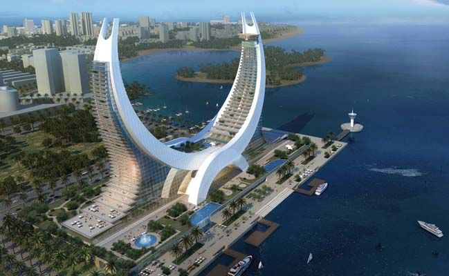 Amazing architecture of katara hotel in doha qatar for Design hotel qatar