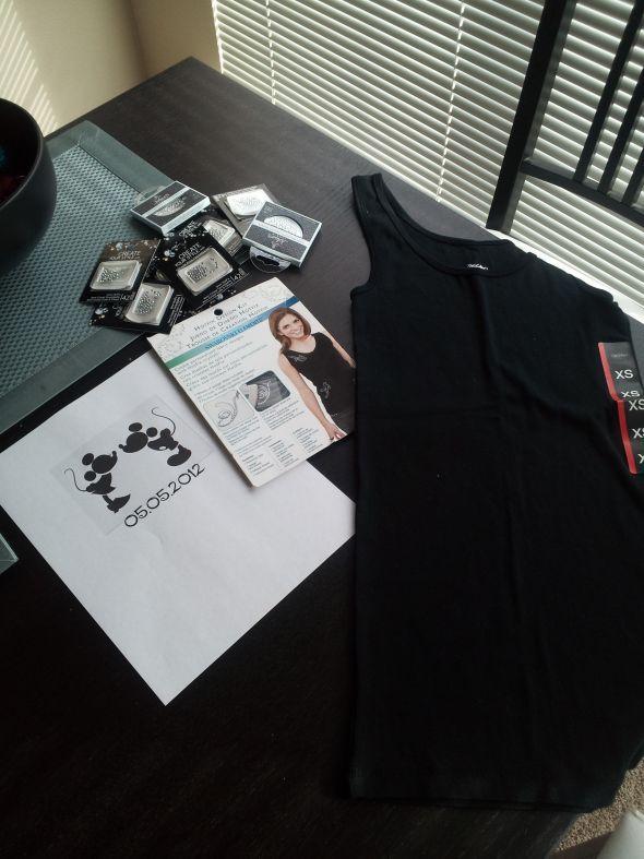 DIY Rhinestone Transfer with Step by Step Directions! :  wedding diy 2012 02 17 15.41.30
