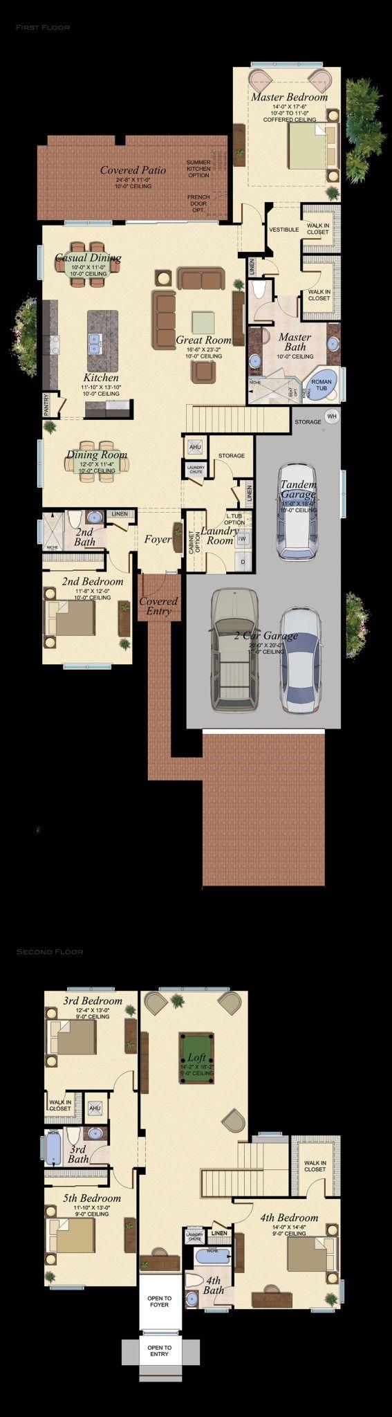 Rose 554 House Plan House Blueprints House Plans Floor Plans