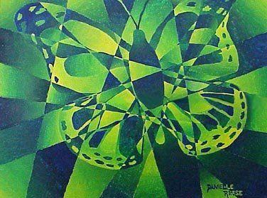 Art Lesson Camouflage Color Scheme Paintings Monochromatic Art