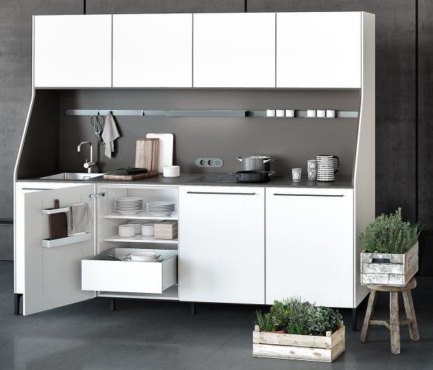 Küchenmodul im Wohnraum Bild 11 Kleine küche