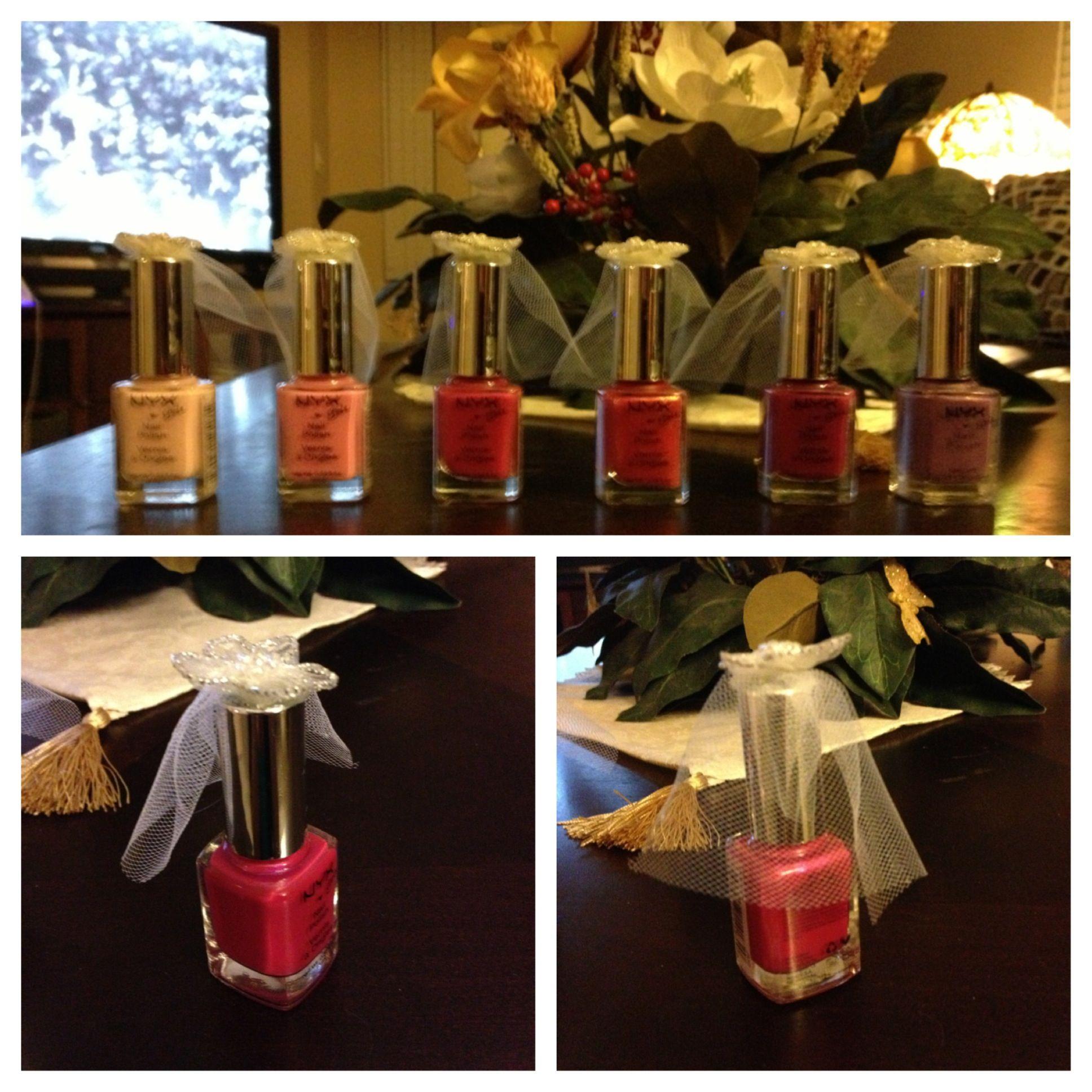 Little Bride Nail Polish... Prizes For A Bachelorette