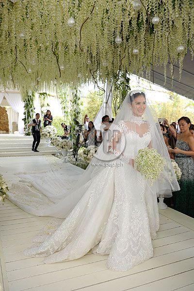 Heart Evangelista Chiz Escudero Wedding Album Events Gallery Expensive Wedding Dress Gorgeous Wedding Dress Queen Wedding Dress