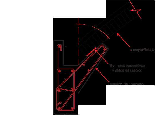 Arcotecho arcoperfiles industriales proyectos que - Como colocar un canalon ...