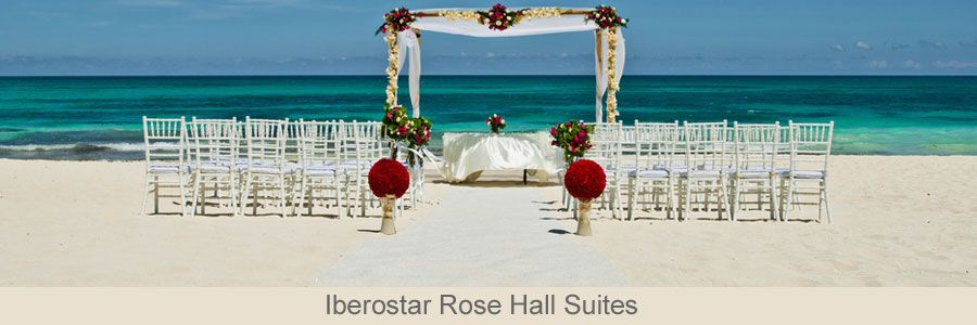 All Inclusive Jamaica Weddings At Iberostar Rose Hall Suites In Montego Bay Is One Of Our Most Por Wedding