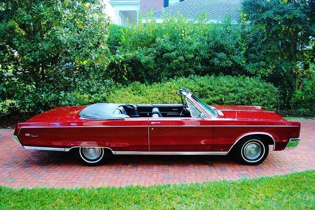 1967 Chrysler Newport Custom Convertible With Images Chrysler
