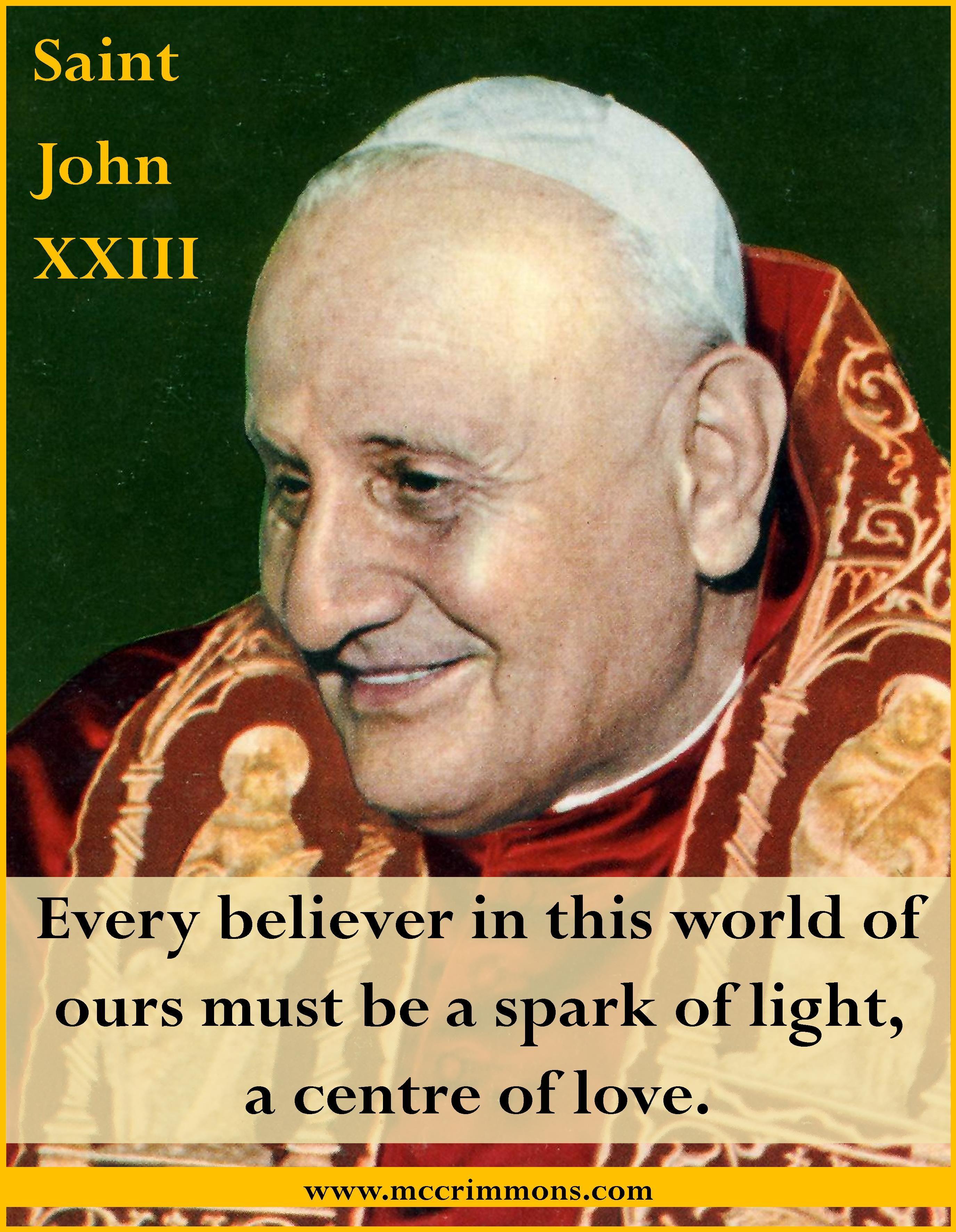Be the light stjohnxxiii pope john pope catholic
