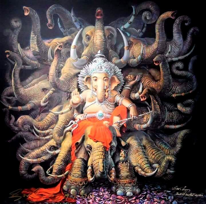 Shri Ganesh Hd Wallpaper: Pin By Miranda Ramchandani On Hinduism