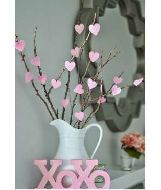 Valentine S Day Decoration A Very Simple Project That Proves Decorating For Can Be Done On Tiny Budget Little You Create