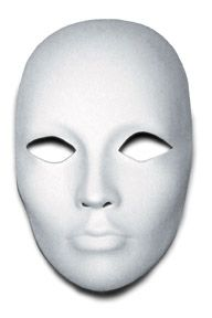 Blank Masks To Decorate Craft Supplies  Blank Mask Masking And Group Art