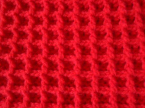 Tunisch Haken Voor Beginners Youtube Haakpatronen Crochet En