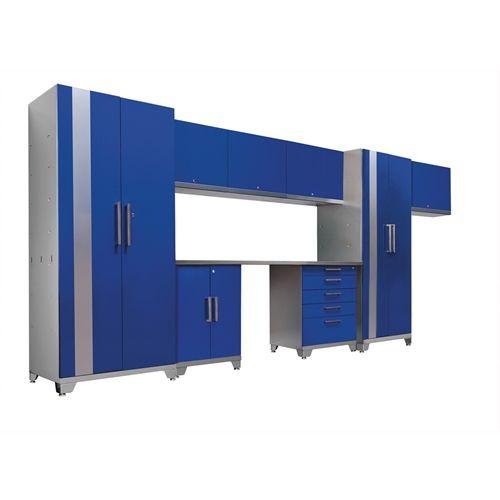 NewAge Performance Plus 9 Piece Cabinetry Set - Blue  $2,120.99