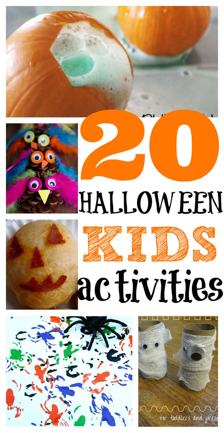 20+ Halloween Activities for Toddlers | Scary, Activities and ...