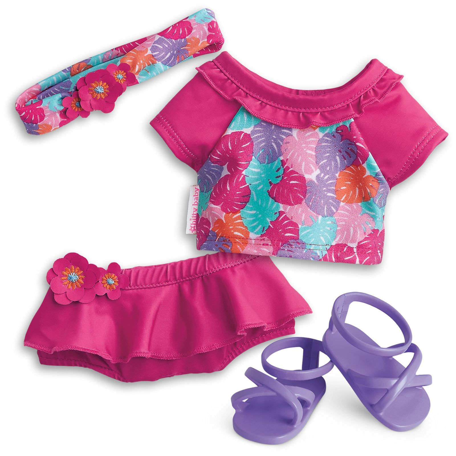 Paradise Palms Swimsuit For Bitty Baby Dolls With Images