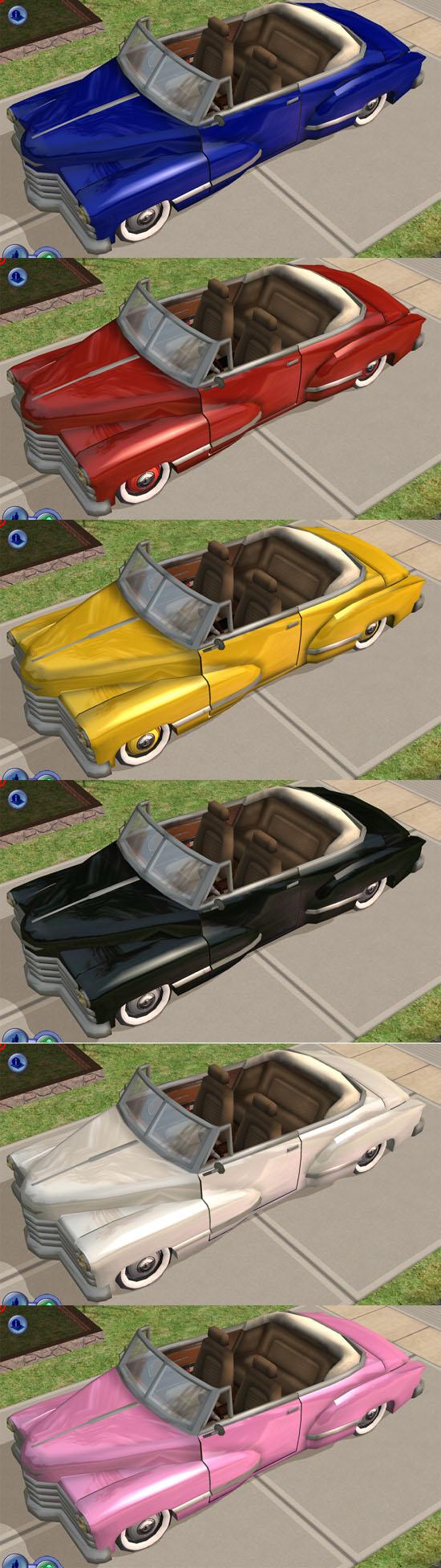 Sims 2 autos