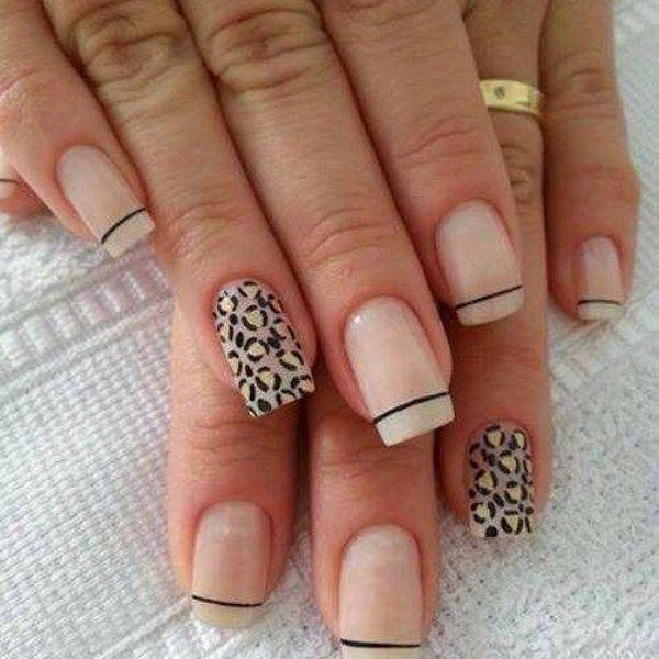 leopard nail art gallery 2016 2017 | Nail designs | Pinterest ...