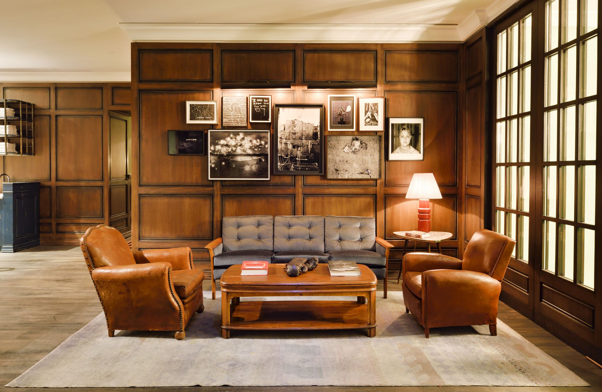 Soho House Istanbul | Cowshed Relax #panelling ...