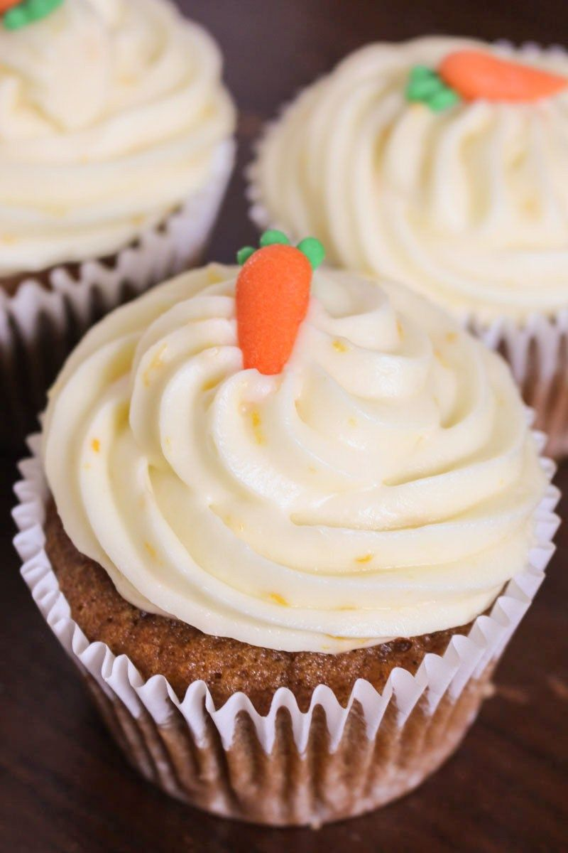 Orange Carrot Cupcakes Recipe Baking Cupcakes Cake Recipes