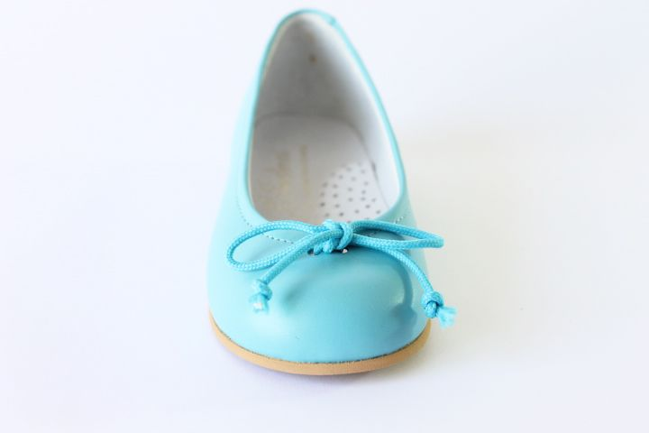 Para Azul Zapatos Niña Color Turquesa Con En Adorno Manoletinas 2WDYIEH9