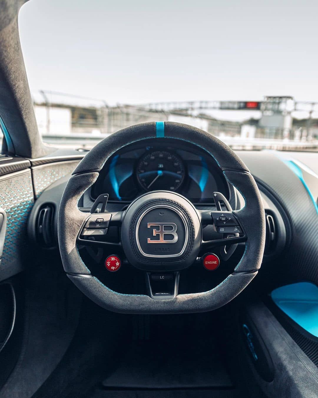 B U G A T T I On Instagram Drivers View In The Bugatti Chiron Pur Sport Photo By Kenozache Bugatti In 2021 Bugatti Chiron Bugatti Chiron Pur Sport Bugatti
