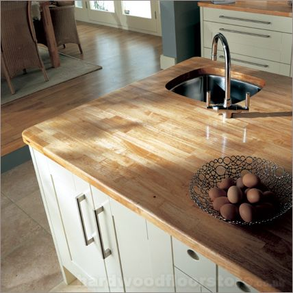 Merveilleux Rubberwood Worktop