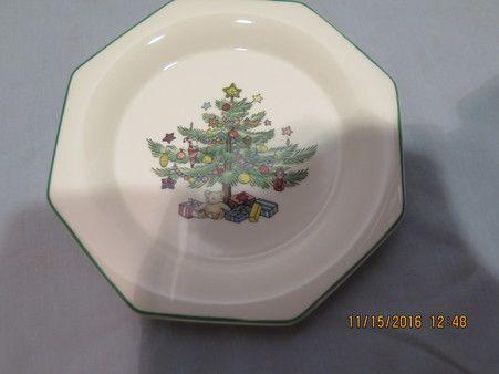 RC Nikko Christmastime Plate Japan 4.5\