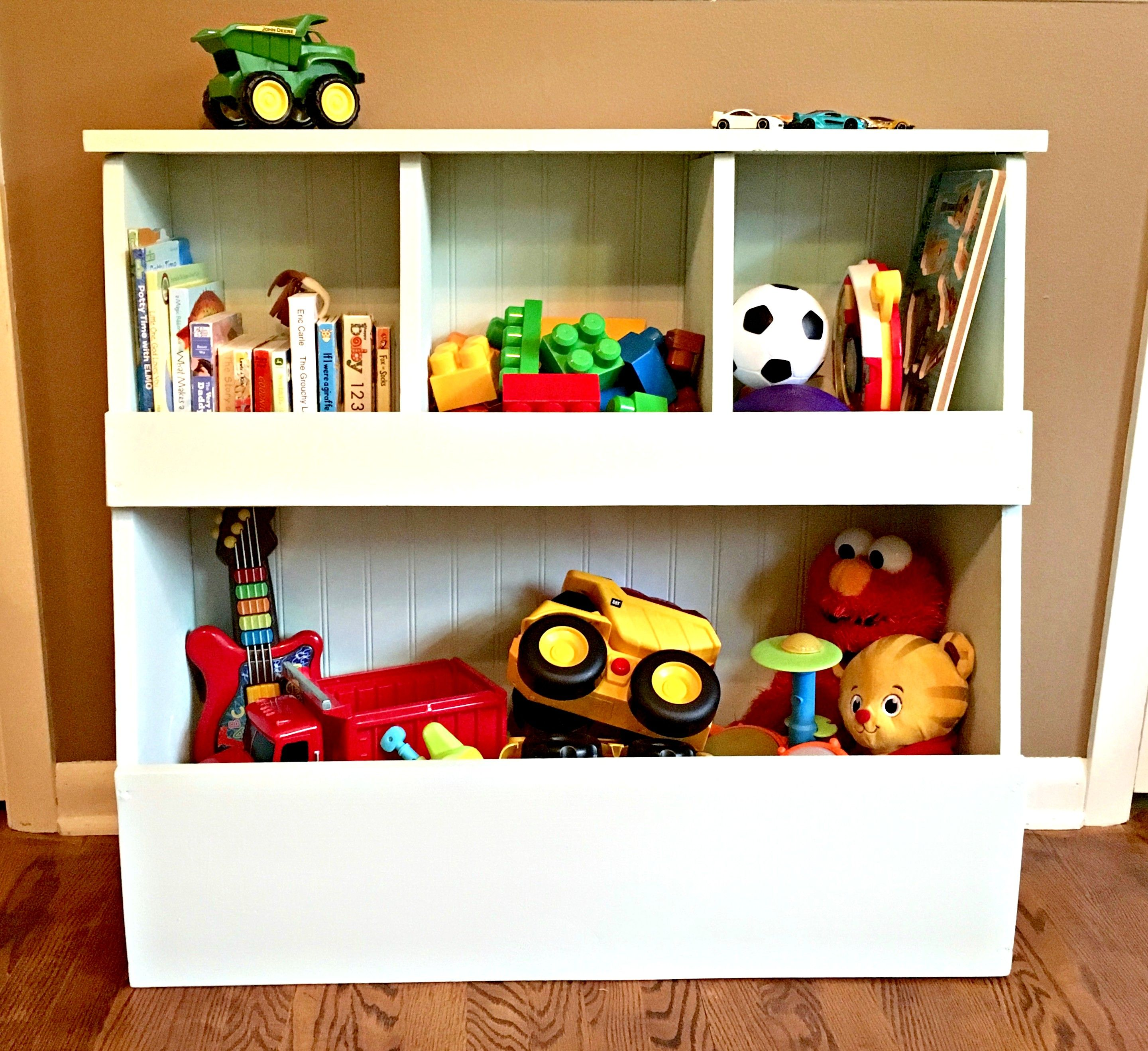 Toy Shelf Do It Yourself Home Projects From Ana White Diy Toy Storage Kids Storage Diy Toy Storage