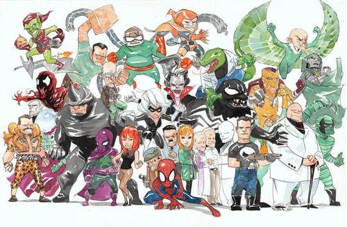Spider-Man By Dustin Nguyen
