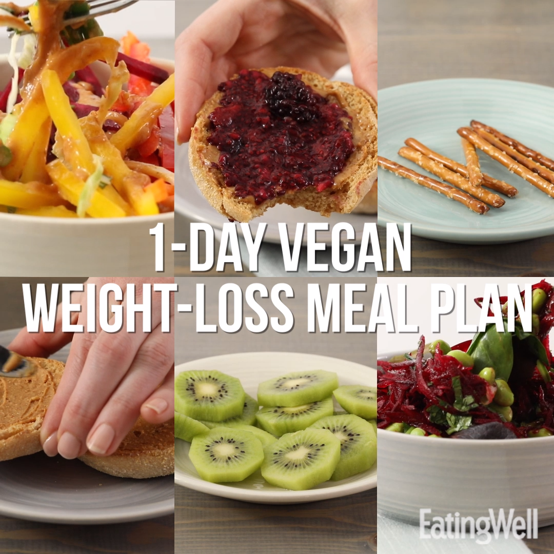 What a 1,200-Calorie Vegan Day Looks Like in 2020 | Low ...