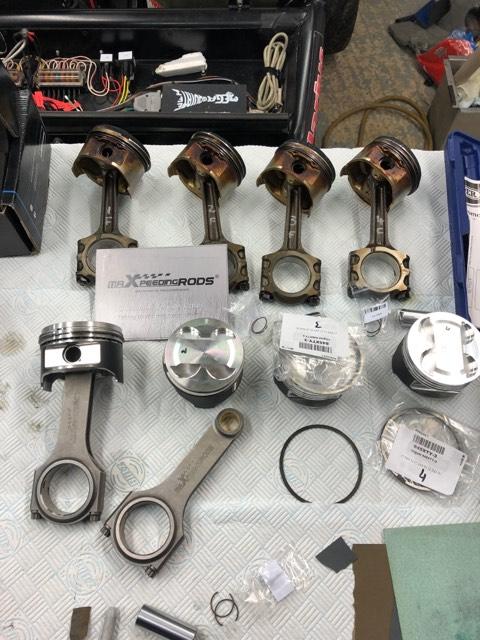 Connecting Rod Rods For Mazda Mx5 Mx 5 Miata B6 Bp 1 6 1 8 Conrods Arp Bolts Mazda Mx5 Miata Miata Mazda Mx5