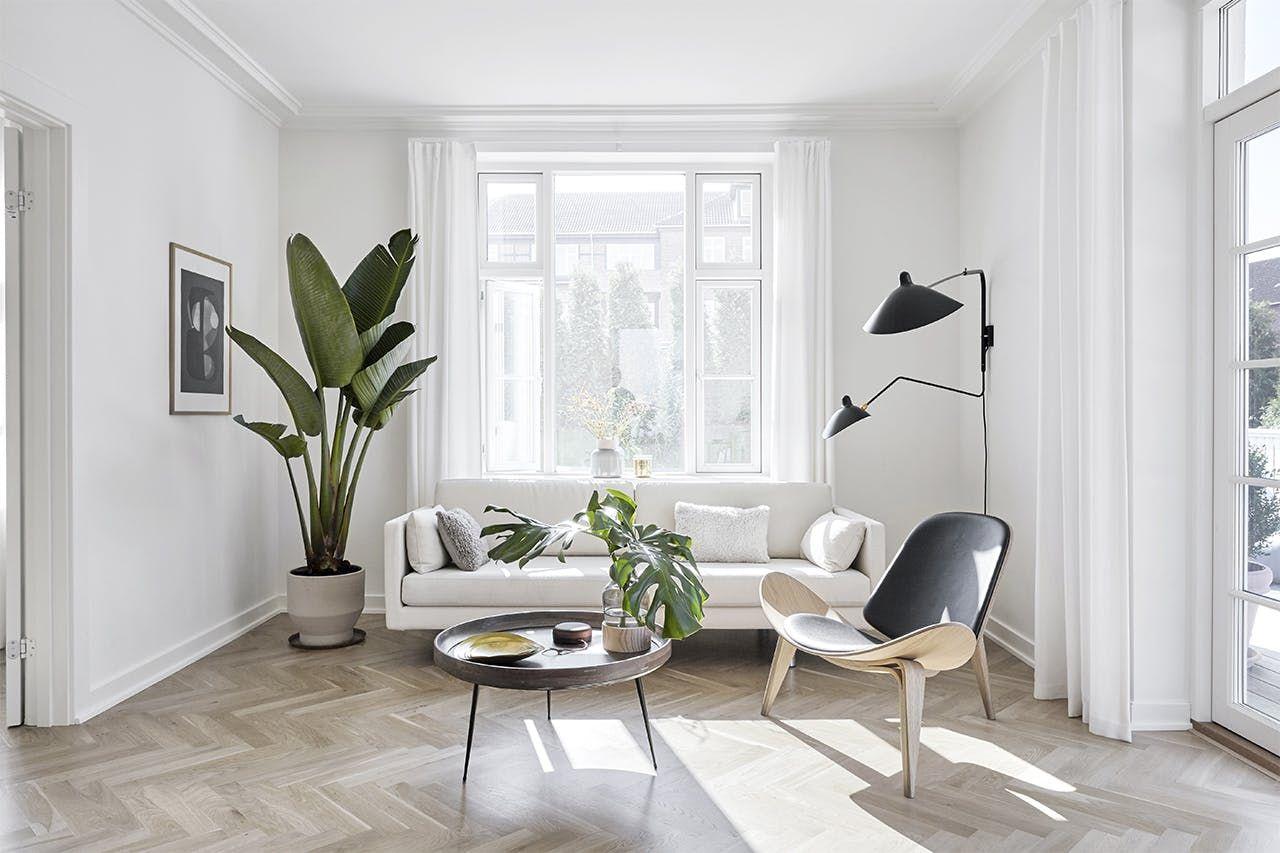 Designer Kathrine Espersens Smukke Villa Minimalistisk Stue Minimalistisk Bolig Stue