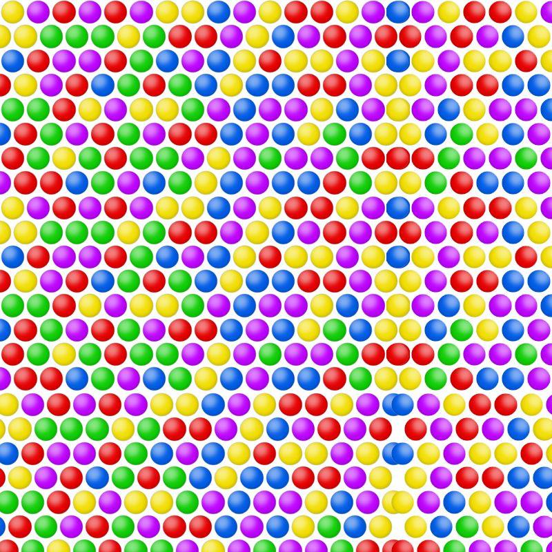 BriBubble Schießt die bunten Bubbles ab! Bubbles - wohnzimmer grau magenta