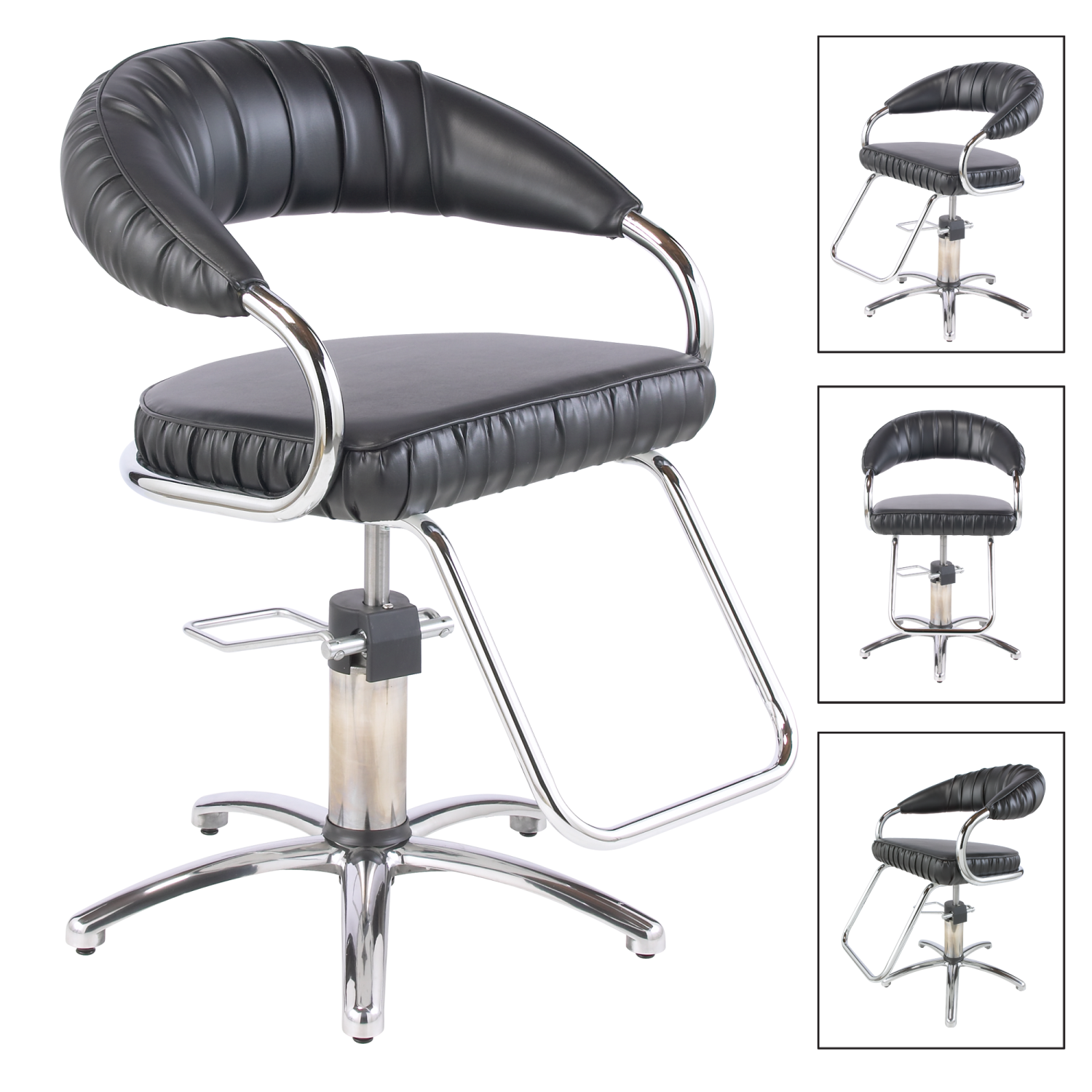 Cloud 9 Styling Chair With 5 Star Base