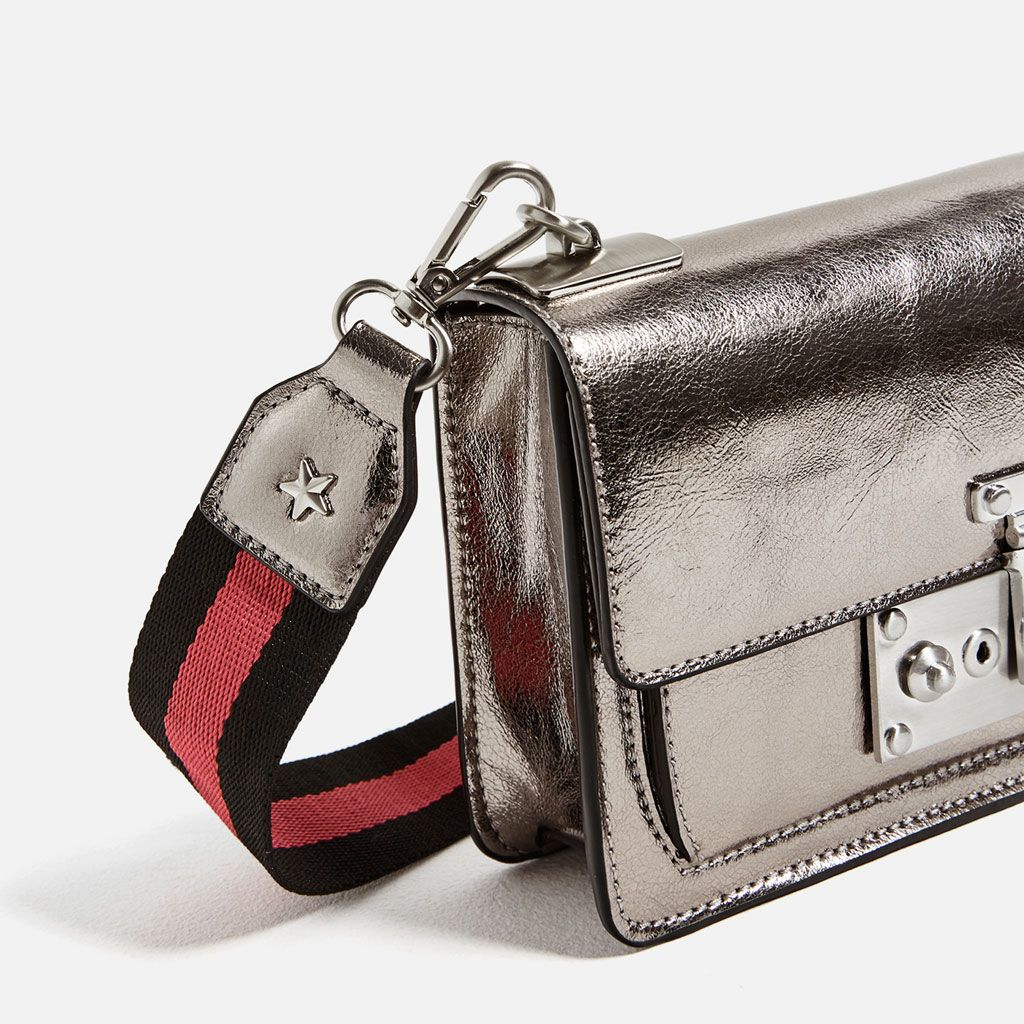 Metallic Crossbody Bag View All Bags Woman Zara United