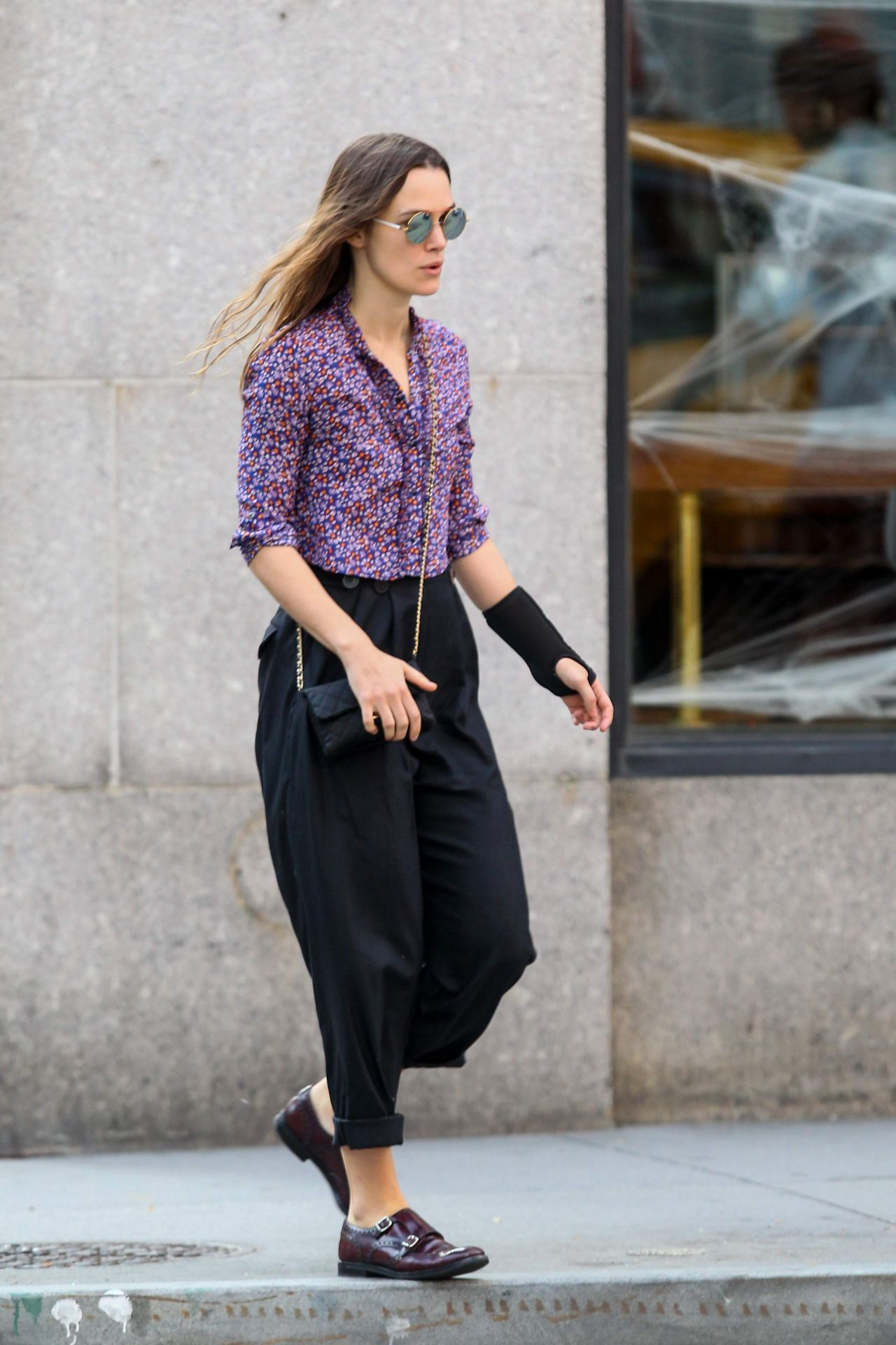 Keira Knightley Street Style Out In New York City October