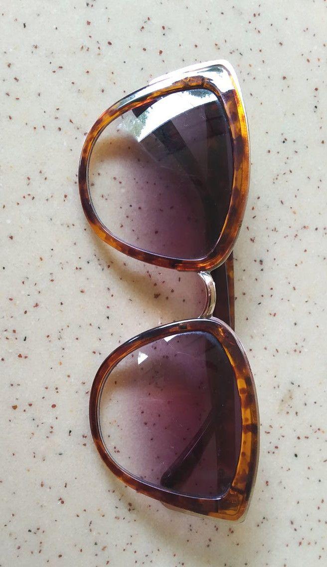 Vintage Women's Sunglasses, Italian Style from 70's, Slightly Oversized Sunglasses