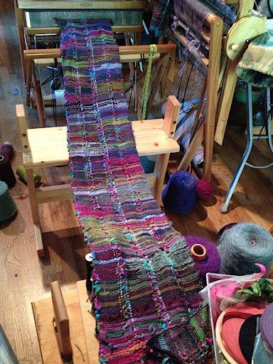 Jill Nickolene Sanders's photos ~ Saori weaving