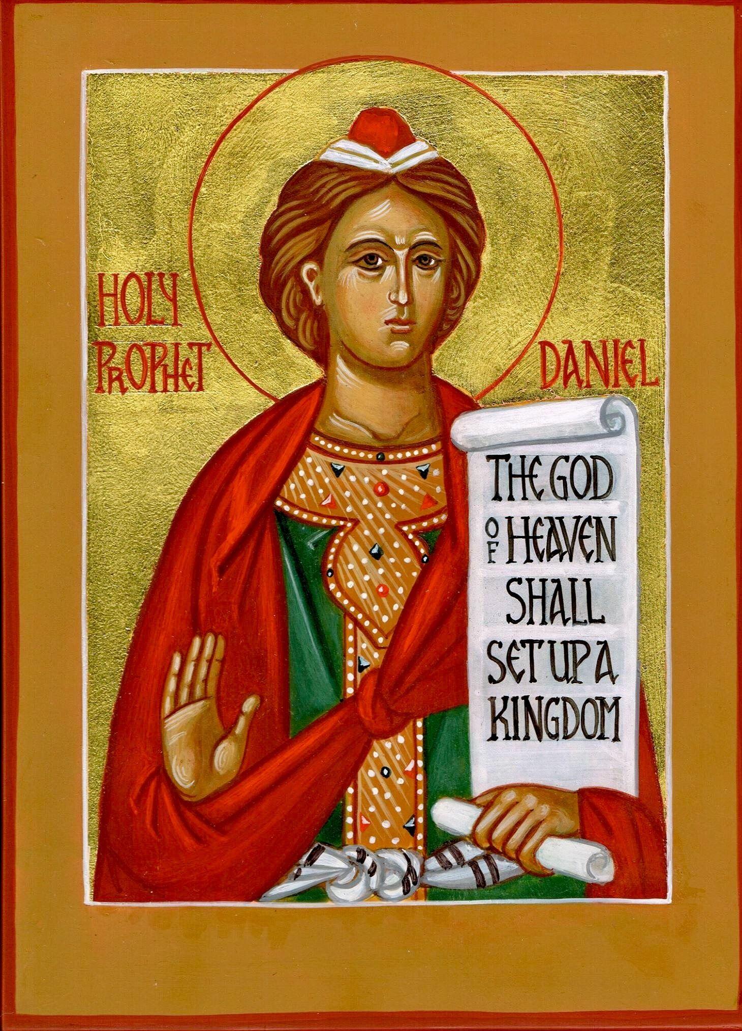 St. Daniel the prophet by Vladimir Lysak | Orthodox christian icons, St  daniel, Orthodox icons