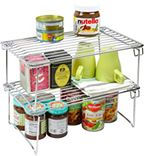 Songmics Cabinet Shelf Organizer Details Can Be Found By Clicking On The Image It Is An Affiliate Link To Amazon Shelf Organization Shelves Kitchen Storage