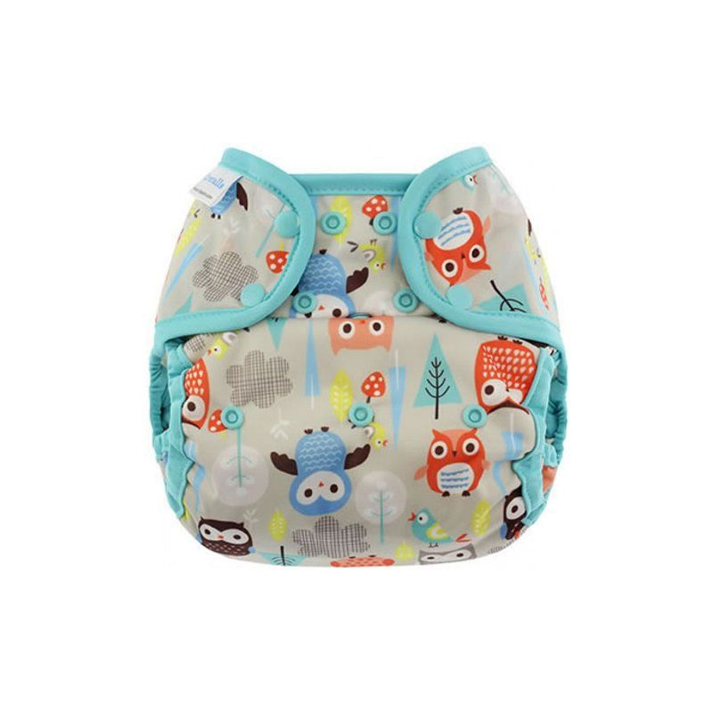 Capri Cover Überhose Druck Night Owl 18,95 euro size 1 very small only to 7 kg