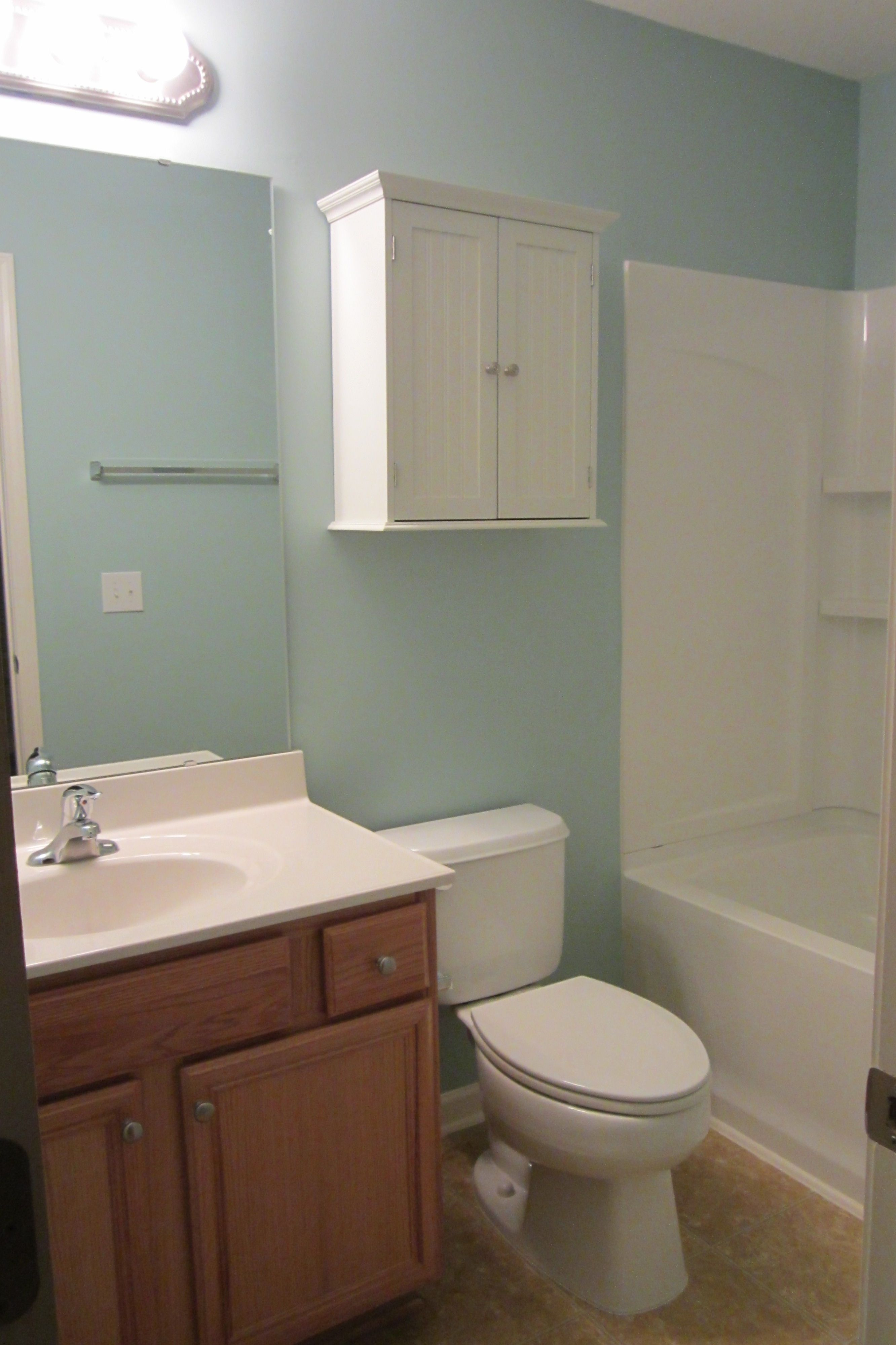 gossamer blue benjamin moore eric s house bathroom in on blue paint bathroom ideas exterior id=92595