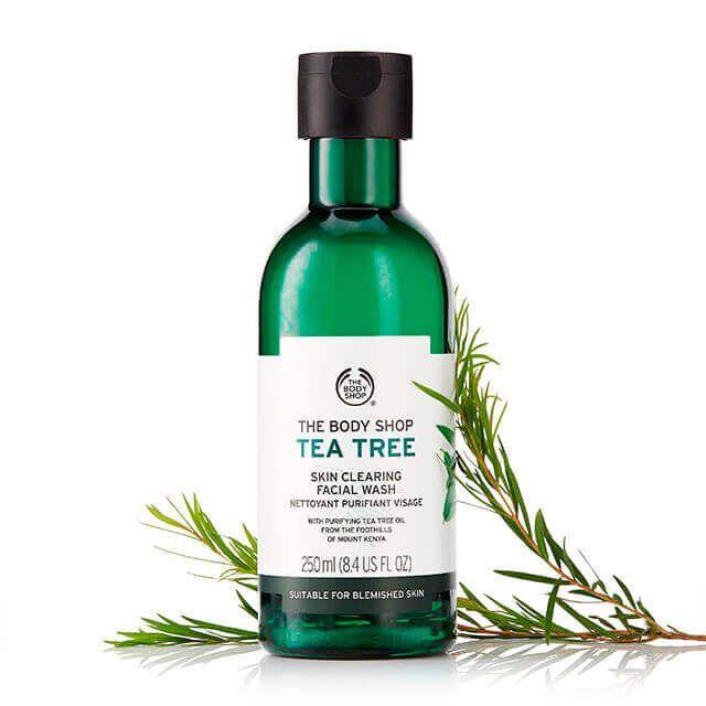 Tea Tree Oil Face Wash Tea Tree Cleanser The Body Shop Tea Tree Skincare Skin Tea Body Shop Tea Tree