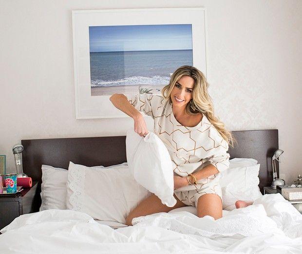 Mariana Weickert mostra seu apartamento (Foto: Guilherme Zaiuth/Ed. Globo)