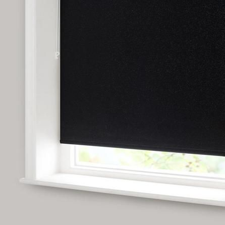 Black Glitter Blackout Roller Blind Dunelm Bathroom