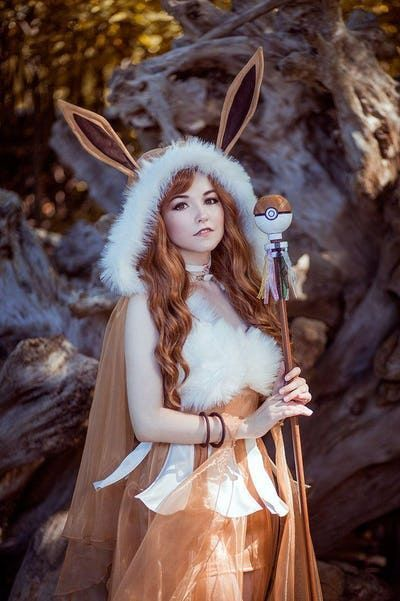 Eevee is listed or ranked 2 on the list 22 Awesome Ladies Who Perfectly Embody  Eevee is listed or ranked 2 on the list 22 Awesome Ladies Who Perfectly Embody Their Pokem...